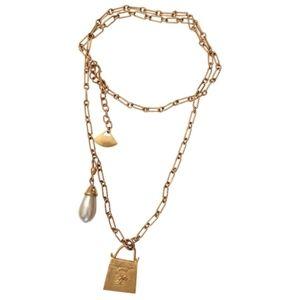 🇨🇦Vintage authentic Karl Lagerfeld necklace/belt